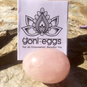 Medium Rose Quartz Yoni Egg